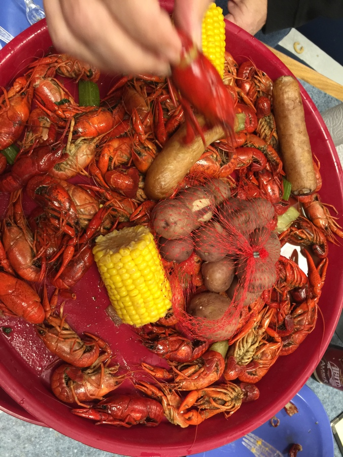 Crawfish and more