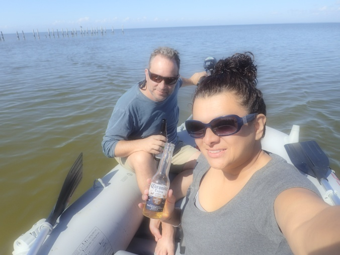 On the water at Gulg Shores, AL