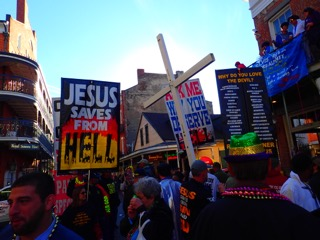 Mardi Gras: A wonderful time... though some wankers would disagree.