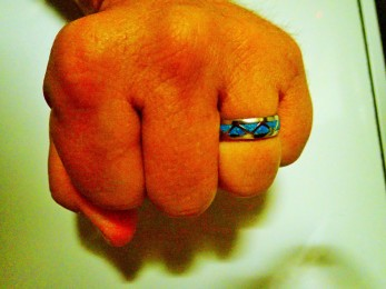 and this is my ring. Don't be jelly.