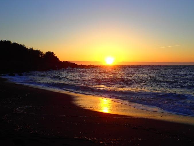 Sunset from MacKerricher State Park