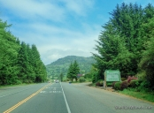 Entering Oregon