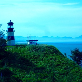 The other lighthouse, Cape Disappointment