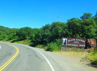 Black Canyon entry sign