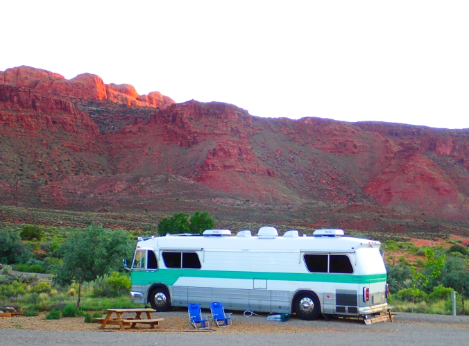 Three days in this first RV park, A.C.T. Campground