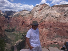 Atop Angel's Landing