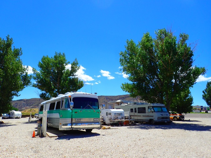 Basic but servicible: Salina Creek RV Park