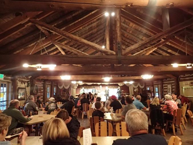 Live music at Elk Meadow lodge