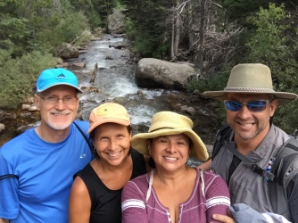 fall hike With John and Doe