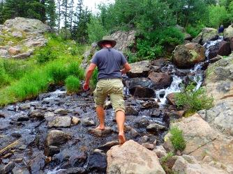 lake hike stream 2