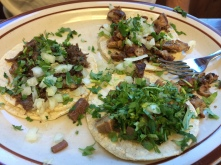 Tripe, Tongue, and Cheek Tacos