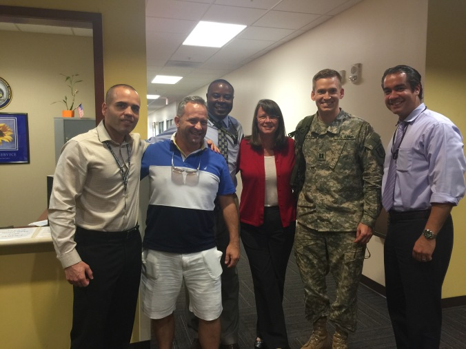 With the SOUTHCOM Crew