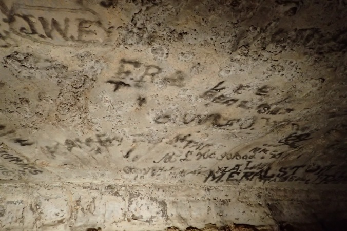 Antebellum graffitti
