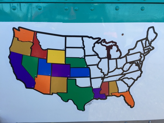 State Map Sticker