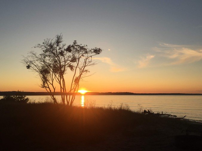 7-munising-sunset